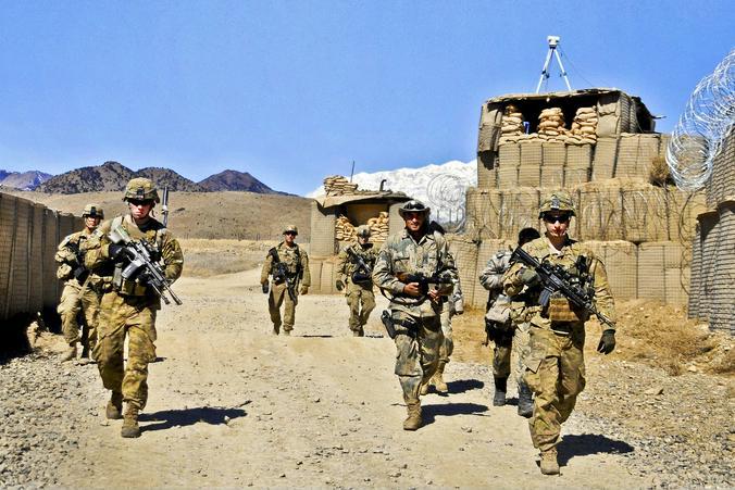 В 2001 году в Афганистан пришли США / Wikipedia/Общественное достояние