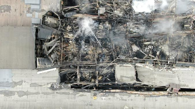Причиной пожара могла стать неисправность электропроводки или электрического оборудования / Агентство городских новостей «Москва»
