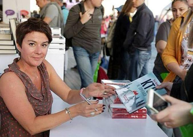 По словам Яны Вагнер, она гордится тем фактом, что первый русский сериал о конце света снят именно по ее книге / Аккаунт Яны Вагнер в Facebook
