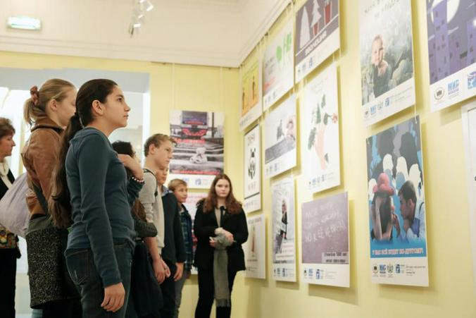 Выставка социальной рекламы / Анна Иванцова, «Вечерняя Москва»