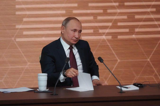 """Президент Владимир Путин сказал, что в 2019 году в развитии Вооруженных сил России произошло много качественных изменений / Антон Гердо, """"Вечерняя Москва"""""""