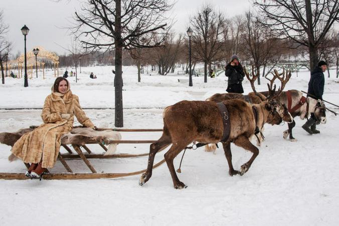 В праздники с 2 по 5 и 8 января музей-заповедник «Царицыно» будет работать бесплатно / Пелагия Замятина, «Вечерняя Москва»