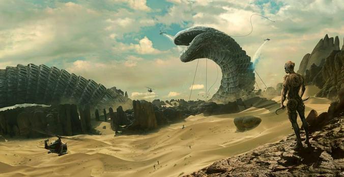 Мир «Дюны», который давно уже завораживает телезрителей, получил современную визуализацию от Дени Вильнева / Кадр из фильма «Дюна»