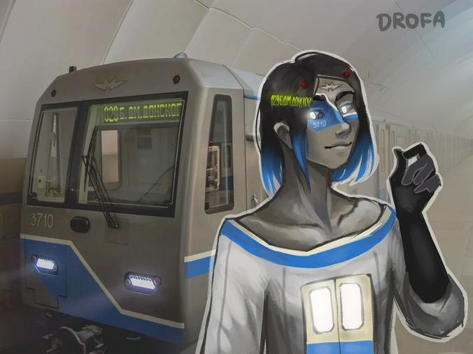 Кто-то считает, что поезд — просто жестянка с двигателем / Из личного архива Софьи Дорофеевой