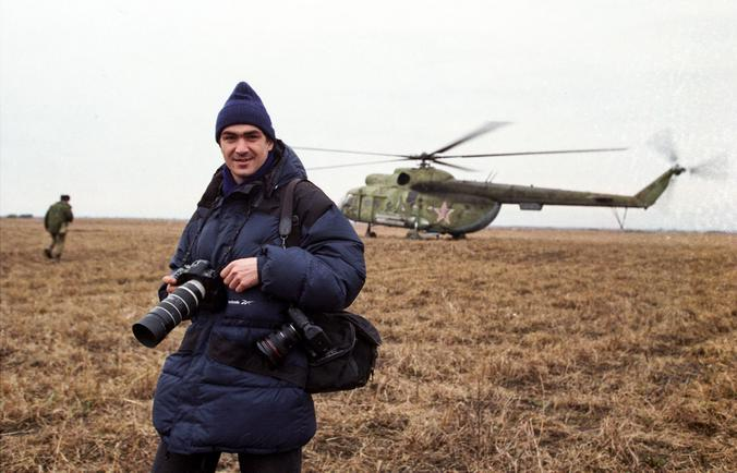 Максим Мармур, 2000 год. Чеченская война / Предоставлено Максимом Мармуром