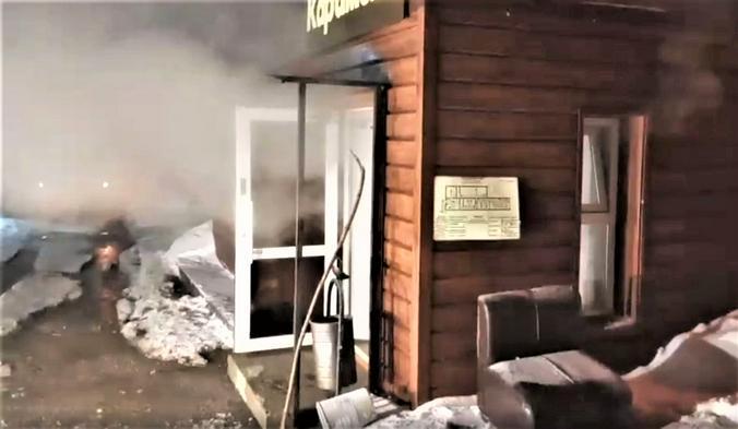 В пермском хостеле из-за разрыва трубы погибли 5 человек, среди них - четырехлетний ребенок / Скриншот видео с официального сайта МЧС России по Пермскому краю
