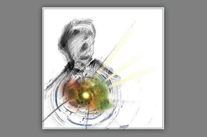 Картина Александра Викторова «Душа» / Из личного архива Александра Викторова