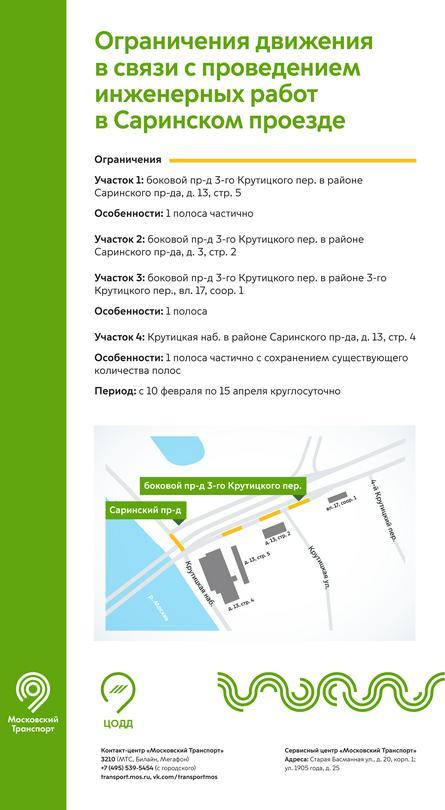 пресс-служба Департамента транспорта и дорожно-транспортной инфраструктуры Москвы