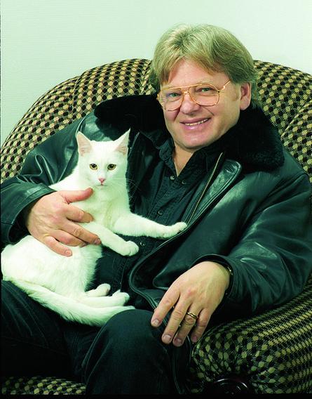 Антонов —большой любитель домашних животных / Предоставлено Юрием Антоновым
