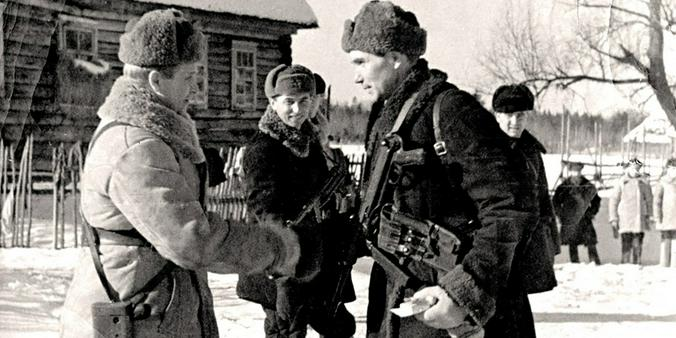 Герой Советского Союза Н. Г. Васильев / Главархив Москвы