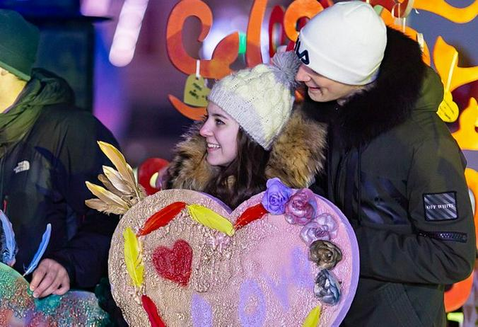 Россияне готовятся ко Дню Святого Валентина / www.mos.ru / Официальный сайт мэра Москвы