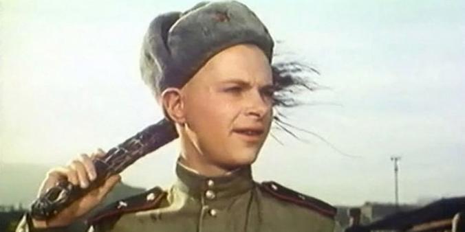 Кадр из фильма «Солдат Иван Бровкин» (режиссер Иван Лукинский, 1955 год)