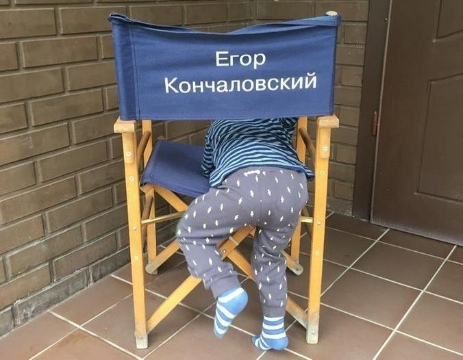 Сейчас у меня получается больше времени с сыном проводить, чем с дочкой, когда она была в его возрасте / www.instagram.com / egorkonchalovsky/ Официальный аккаунт Егора Михалкова-Кончаловского в Instagram