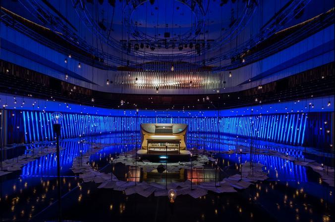 По словам гендиректора зала «Зарядье» Ольги Жуковой, инаугурация органа станет событием, которое каждый зритель запомнит на всю жизнь / Владимир Новиков, «Вечерняя Москва»