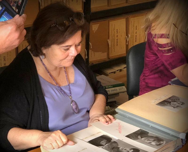 Джоан Борстен-Видов издала книгу стихов Видова после его смерти / личный архив Джоан Борстен-Видов