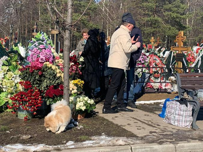 Родственники и поклонники певицы пришли на ее могилу спустя год после смерти / Наталия Белова, «Вечерняя Москва»