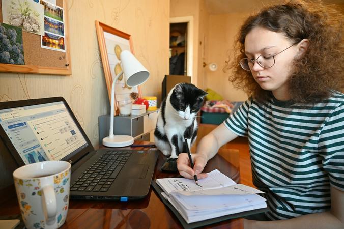 Треть опрошенных считает работу из дома менее комфортной, чем в офисе / Алексей Орлов, «Вечерняя Москва»