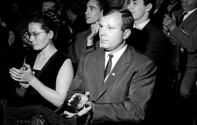 Почему-то, рассматривая фотографии семьи Гагариных, невозможно представить Юрия и Валентину старыми / Wikipedia / Общественное достояние