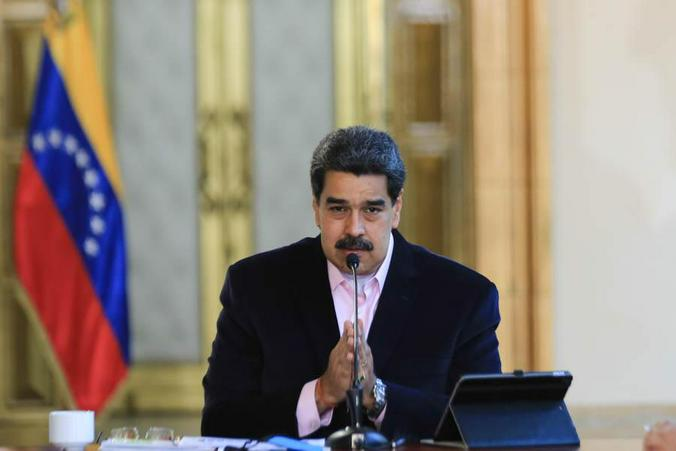 Венесуэльский лидер Николас Мадуро / @nicolasmaduro / Фотография из аккаунта Николаса Мадуро в Twitter