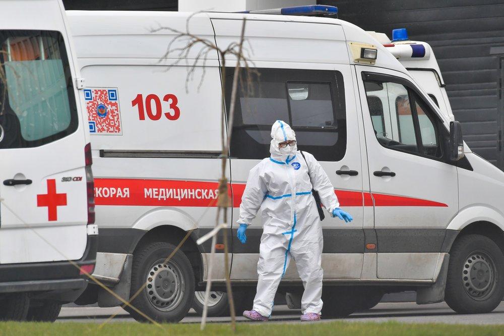 Коронавирус выявили у 5394 человек в России за сутки