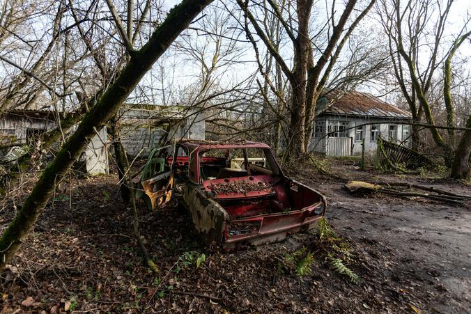 Зона отчуждения Чернобыльской АЭС / Zuma/TASS