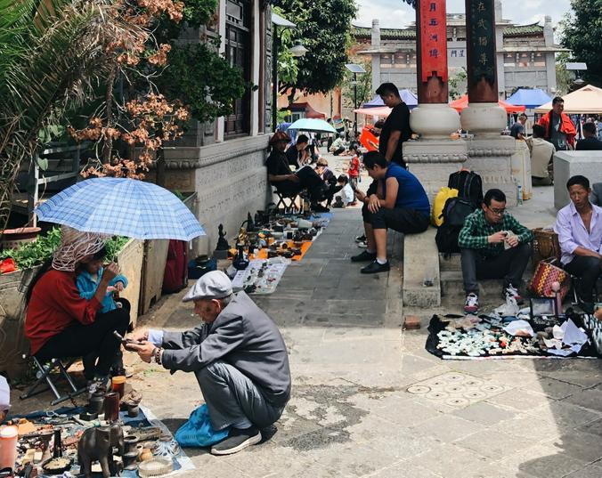 Перемещение жителей Китая четко отслеживается / предоставлено Марией Чернецкой