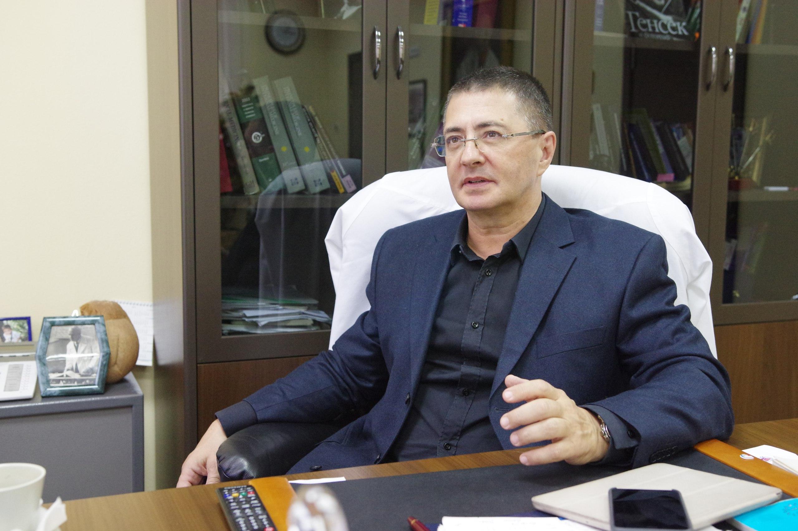 Доктор Мясников назвал условия защиты от тяжелых форм коронавируса