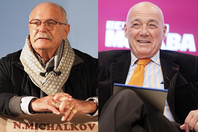 Куда более интеллигентно и тонко ссорятся наши глыбы Никита Михалков и Владимир Познер / «Вечерняя Москва»