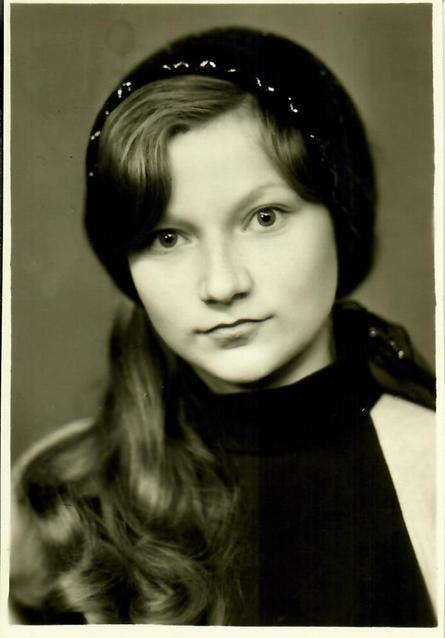 Юная Лена Степаненко. Фото 1968 года / Из личного архива Елены Степаненко