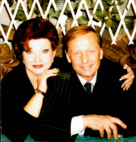 С писателем-сатириком Михаилом Задорновым, 2001 год / Из личного архива Елены Степаненко