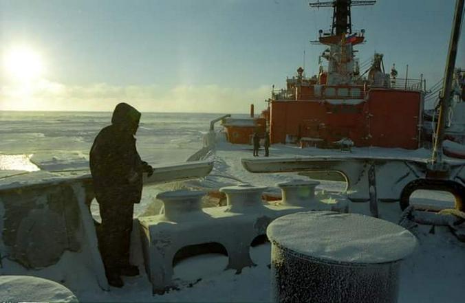 На Северном флоте знают, что подлодки рейха в Арктике — реальность / из личного архива Игоря Воеводина