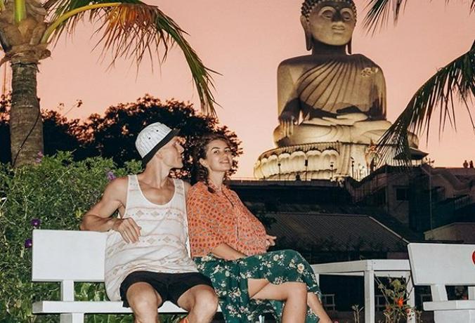 Москвичи не смогли вылететь из аэропорта Бангкока / Фото из личного архива семьи Домогаровых