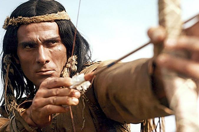 Что уж говорить о Гойко Митиче. Каждый Чингачгук нам как родной / Кадр из фильма «Чингачгук — Большой Змей», 1967 г.