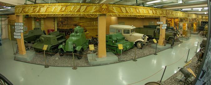 Экспозиция «Моторы войны» / Free / Пресс-служба Музея Победы