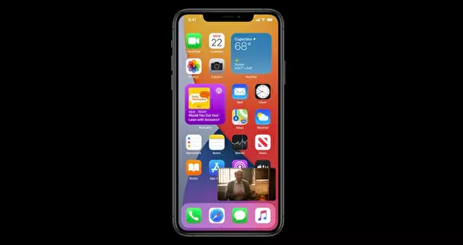 Скриншот конференции для разработчиков Apple WWDC-2020