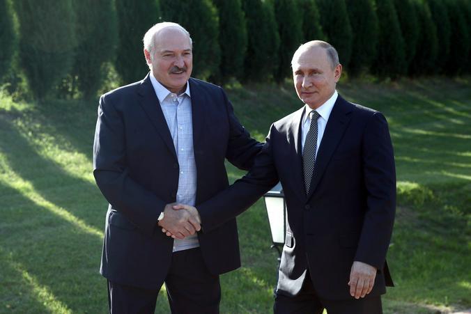 Президент Белоруссии Александр Лукашенко и президент России Владимир Путин / kremlin.ru/ Администрация президента России