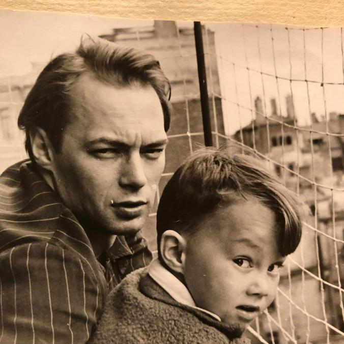 Овидий Горчаков с сыном Василием. Москва, 1959-й год / Из личного архива Василия Горчакова