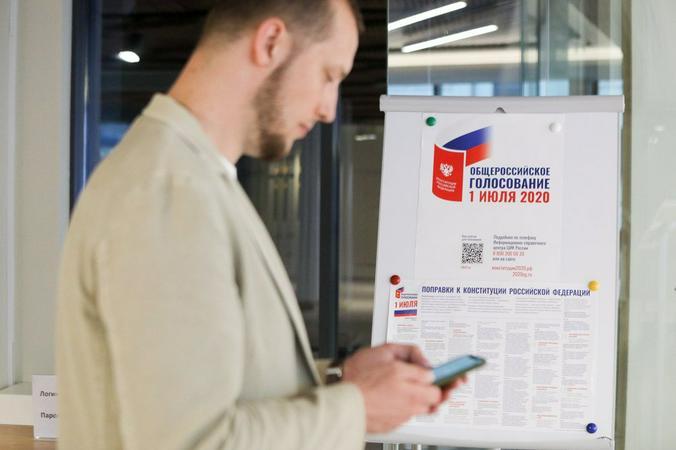 Все заинтересованы в голосовании открытом, честном, строго в рамках закона / Андрей Никеричев / АГН «Москва»