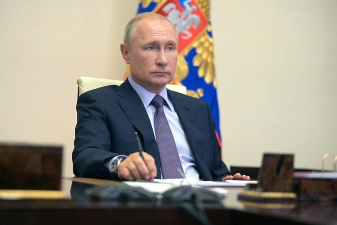 Владимир Путин предложил определить общенациональные задачи на следующие десять лет / kremlin.ru/ Администрация президента России