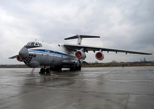 Наши Ил-76 летели на Апеннины кружным путем — через Средиземное море / Официальный сайт Министерства обороны России