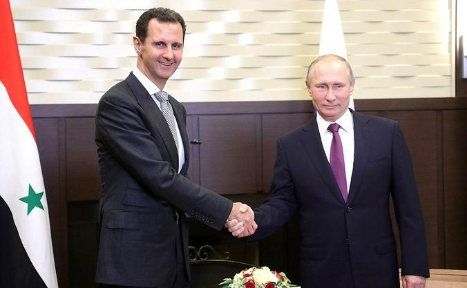 Асад испытывает терпение Путина / kremlin.ru / Администрация президента России