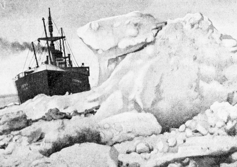 Подводно-поисковая экспедиция обследует место гибели парохода «Челюскин»
