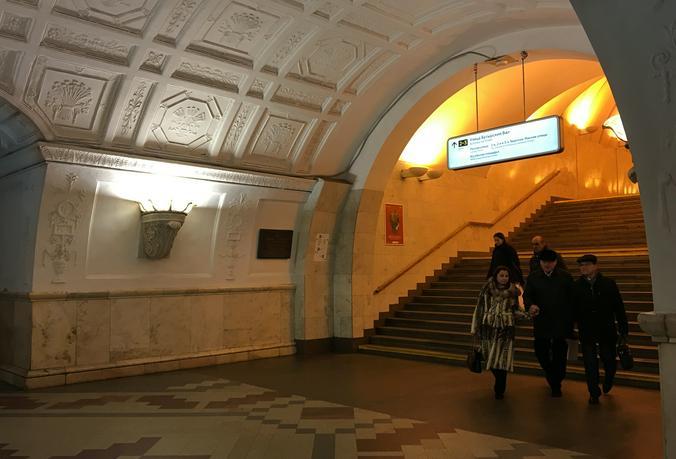 Любимая станция метро Геннадия Моторкина  — «Белорусская», так как именно от нее уходили наши бойцы на фронт / Free / Анна Быкова, «Вечерняя Москва»