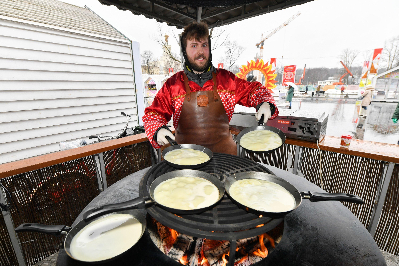 Кулинарные баттлы пройдут в последний день фестиваля «Московская Масленица»