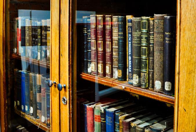 Шкаф на даче раздут от старых книг / Никита Нестеров, «Москва. Центр»