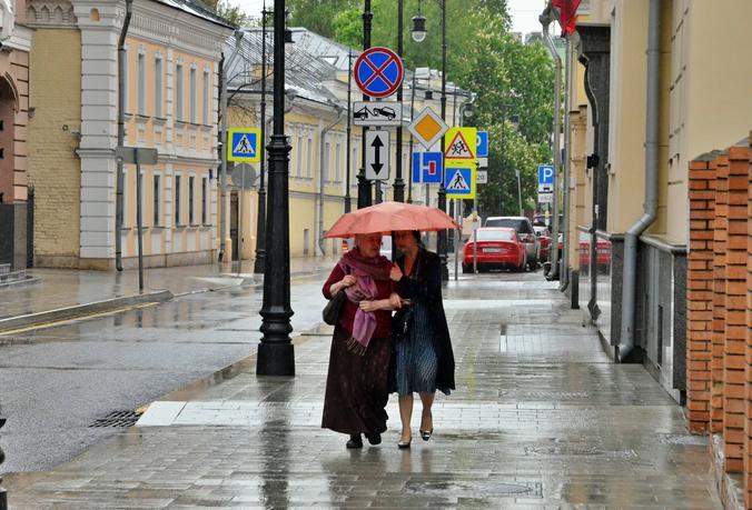 Осадки ожидаются в столице. Фото: Анна Быкова