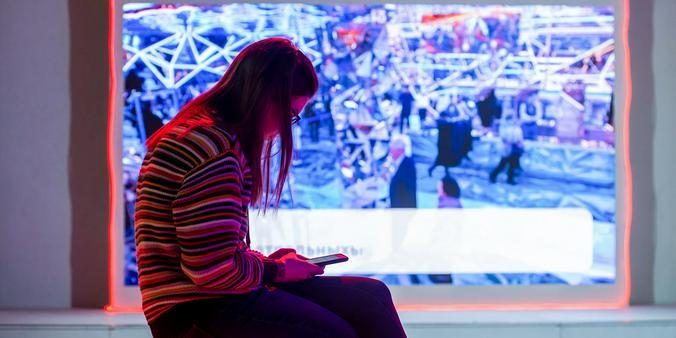 Смартфон ворует время у чтения / официальный сайт мэра Москвы / официальный сайт мэра Москвы