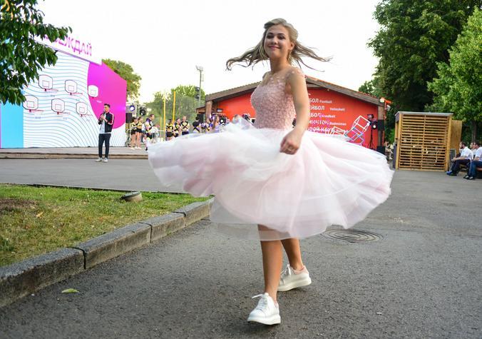 Выпускной вечер в традиционном формате состоится 27 июня / Пелагия Замятина, «Вечерняя Москва»