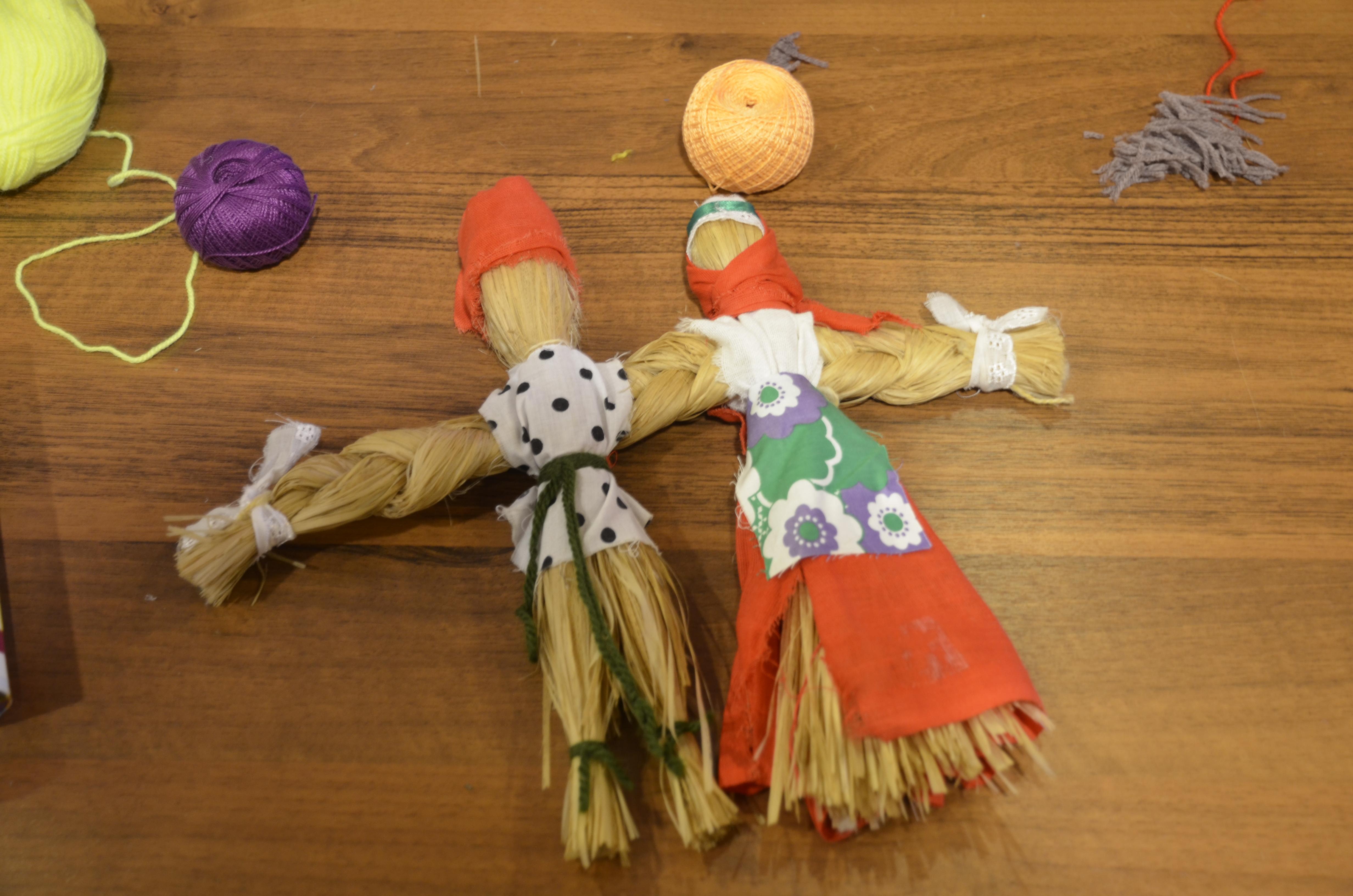 Игрушки народов России научат делать в детской библиотеке. Фото: Анна Быкова