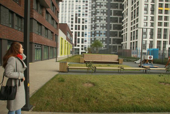 Площадь дворов в московских кварталах, которые планируется построить по программе реновации, превышает европейскую в 1,3 раза / Наталия Нечаева, «Вечерняя Москва»